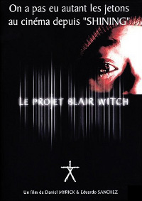 Affiche Blair witch Le Projet Blair Witch / Blair Witch 2 : Le Livre Des Ombres